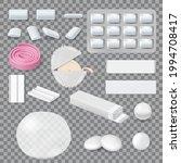 chewing gum mockups  stripes ...   Shutterstock .eps vector #1994708417