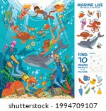 diving and snorkeling.... | Shutterstock .eps vector #1994709107