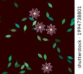 floral abstract background...   Shutterstock .eps vector #1994738801