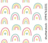 vector seamless pattern of hand ... | Shutterstock .eps vector #1994761031