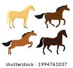vector set of flat cartoon hand ... | Shutterstock .eps vector #1994761037