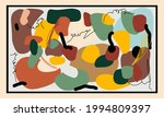 abstract mid century modern... | Shutterstock .eps vector #1994809397