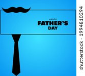 flat happy father's day... | Shutterstock .eps vector #1994810294