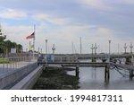 Walking Bridge Over The Harbor...