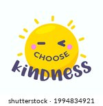 choose kindness banner with... | Shutterstock .eps vector #1994834921