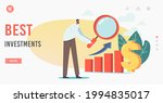 best investments landing page...   Shutterstock .eps vector #1994835017