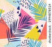 abstract summer seamless... | Shutterstock .eps vector #1994878514