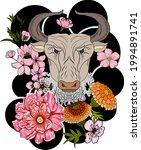 taurus vector of astrology...   Shutterstock .eps vector #1994891741