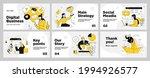 presentation and slide layout... | Shutterstock .eps vector #1994926577