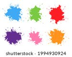 abstract grunge splash.... | Shutterstock .eps vector #1994930924
