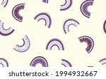 trendy seamless pattern with...   Shutterstock .eps vector #1994932667