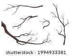 branch on white background...   Shutterstock .eps vector #1994933381