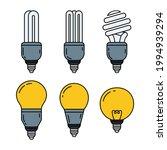 lamp doodle illustration...   Shutterstock .eps vector #1994939294