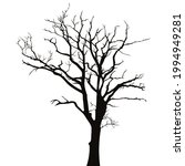 dry branch of tree isolated on...   Shutterstock .eps vector #1994949281