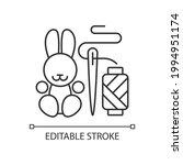 handmade toys linear icon....   Shutterstock .eps vector #1994951174