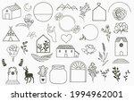 natural outline element...   Shutterstock .eps vector #1994962001