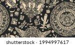 mexican mesoamerican culture.... | Shutterstock .eps vector #1994997617