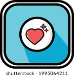 a vector of healthy emotion for ... | Shutterstock .eps vector #1995064211
