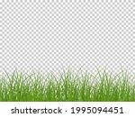 green realistic seamless grass... | Shutterstock .eps vector #1995094451