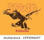 eagle illustration with slogan...   Shutterstock .eps vector #1995096047