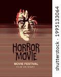 vector poster for the horror... | Shutterstock .eps vector #1995133064