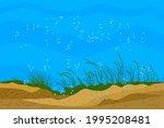 Ocean Bottom Landscape....