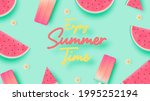 popsicle and ice cream for...   Shutterstock .eps vector #1995252194