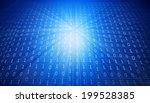 binary background   | Shutterstock . vector #199528385