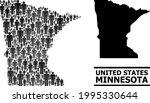 map of minnesota state for...   Shutterstock .eps vector #1995330644