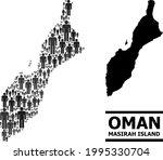 map of masirah island for...   Shutterstock .eps vector #1995330704