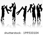 father and son   Shutterstock .eps vector #199533104