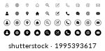 website icon set  web icon set  ...   Shutterstock .eps vector #1995393617