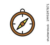 compass simple icon vector...   Shutterstock .eps vector #1995397871