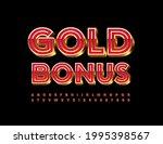 vector advertising poster gold...   Shutterstock .eps vector #1995398567