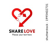 share love logo template...   Shutterstock .eps vector #1995402731