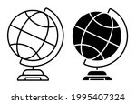 school globe on stand icon....   Shutterstock .eps vector #1995407324