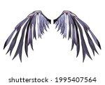 Beautiful Devil Wing Plumage...