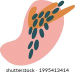 vector abstract shape ...   Shutterstock .eps vector #1995413414