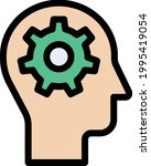 mind setting vector line colour ...   Shutterstock .eps vector #1995419054