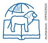 biogeography science sketch...   Shutterstock .eps vector #1995425024