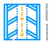 direction arrows on parking...   Shutterstock .eps vector #1995427424