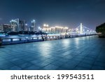 Guangzhou Bridge At Night In...