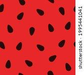 watermelon seeds texture... | Shutterstock .eps vector #1995441041