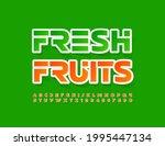vector bright banner fresh...   Shutterstock .eps vector #1995447134