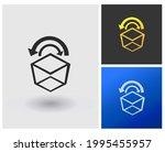 box delivery logo concept idea...   Shutterstock .eps vector #1995455957