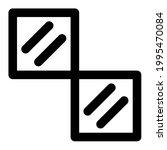 ceramics floor in outline icon   Shutterstock .eps vector #1995470084
