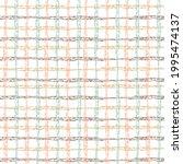 seamless pattern scottish cage. ...   Shutterstock .eps vector #1995474137
