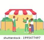 an african american farmer... | Shutterstock .eps vector #1995477497