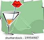 cup of juice  | Shutterstock .eps vector #19954987