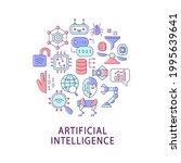 artificial intelligence... | Shutterstock .eps vector #1995639641